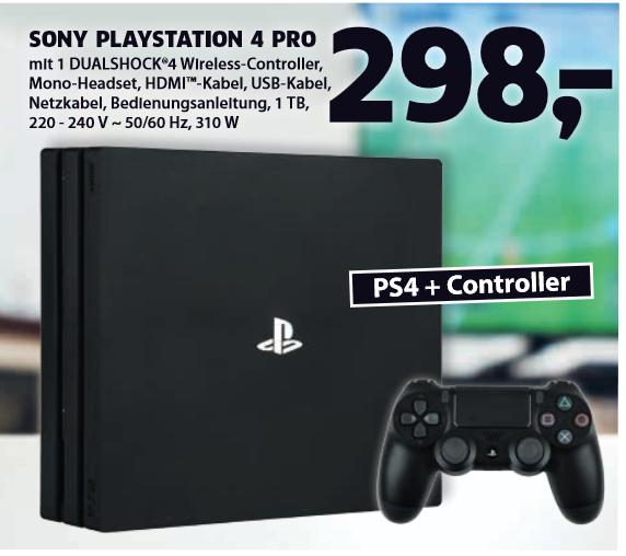 [Lokal] PS4 Pro für 298 Euro ab 12.08.