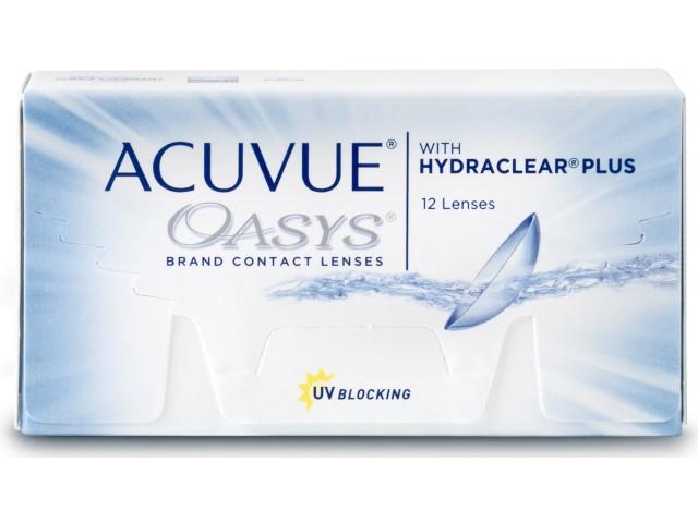 Fielmann: Kontaktlinsen Acuvue Oasys (12er Pack) günstig durch 10%-Billiger-Aktion