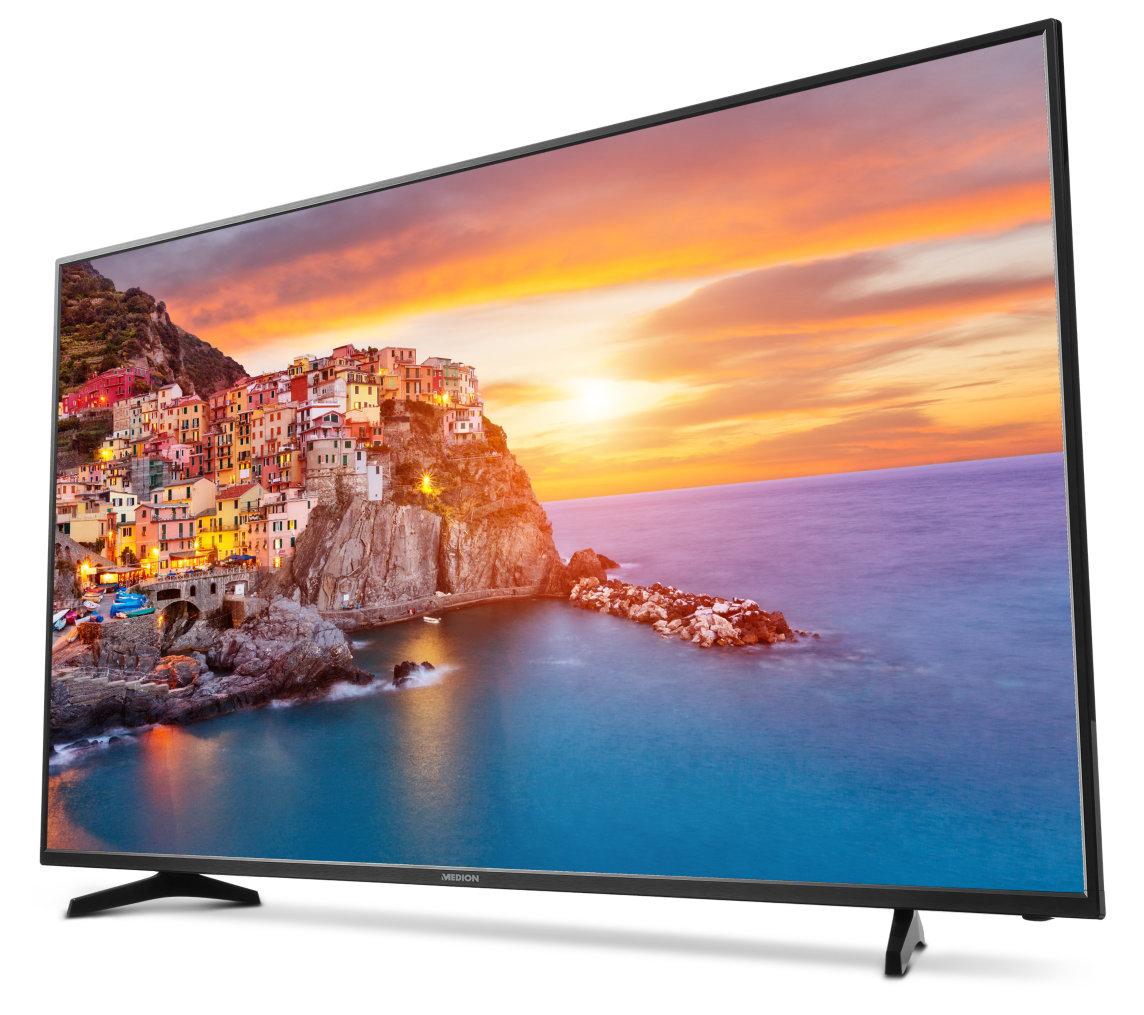 "Medion Life P18100 (MD 31279) - 55"" UHD TV mit Triple-Tuner (auch DVB-T2)"