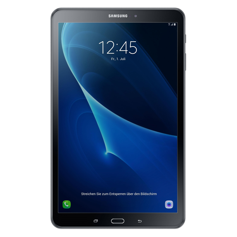 Samsung Galaxy Tab A 10.1 WiFi in Schwarz für eff. 137,59€ durch 50€ Cashback bei Notebooksbilliger