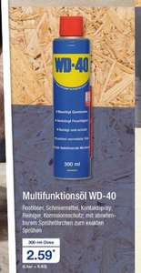 [Aldi Nord] WD40 300ml (Multifunktionsöl)