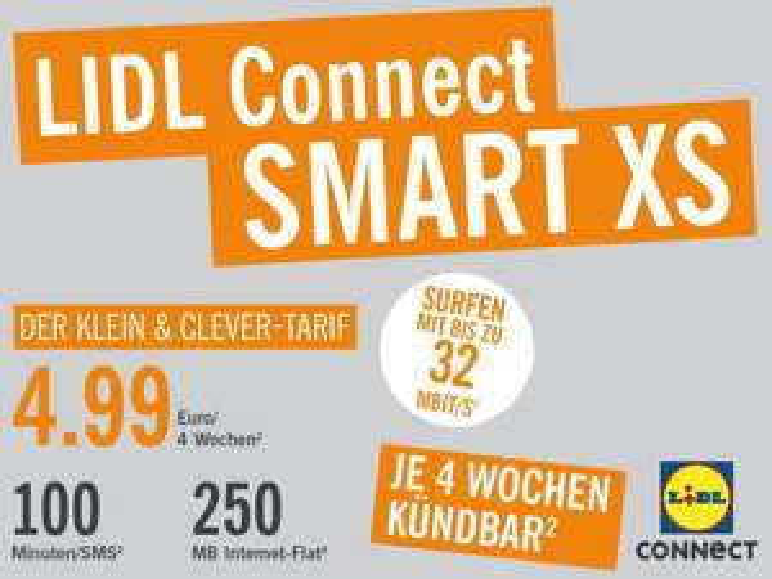 LIDL Connect Starterpaket SMART für 0,99€ nur online