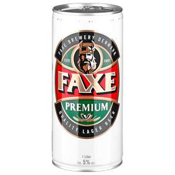 [Kaufland bundesweit] Faxe Lager Bier 1L Dose für 1€