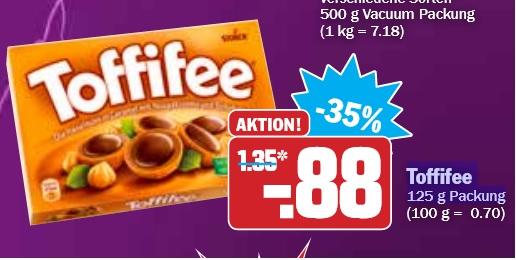 Toffifee 35% billiger für nur 0,88€ @Hit