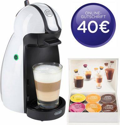DeLonghi EDG 100.W Nescafé Dolce Gusto Piccolo Kaffeekapselmaschine (manuell) weiß + 40€ Gutschein (Otto Neukunden)