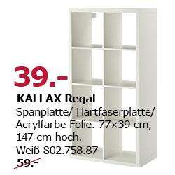 [IKEA Magdeburg] Neueröffnung KALLAX 2x4 39€ / HotDog 0,5€ / EKTORP 3er Sofa 199€ uvm.
