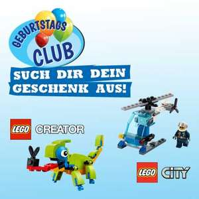 Vedes Fachhändler - Lego Geburtstagsgeschenk - Offline