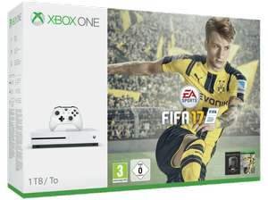 Xbox One S 1TB FIFA 17 Bundle + Call of Duty: Infinite Warfare + Prey + PES 2016