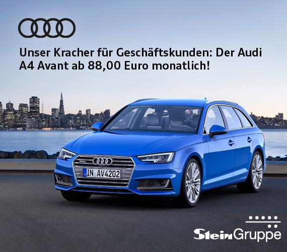 [Gewerbeleasing] Audi A4 Avant ab 88,- € monatlich