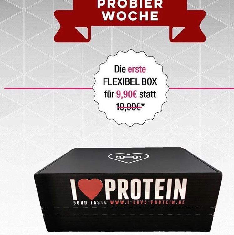 Monatliche Fitness/Protein Box Flexibel --> 1. Box 9,90€ statt 19,90€!