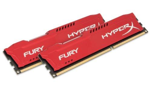 Kingston HyperX Fury Red 16GB Kit DDR3-1333 für 84,25€ (Amazon.es)