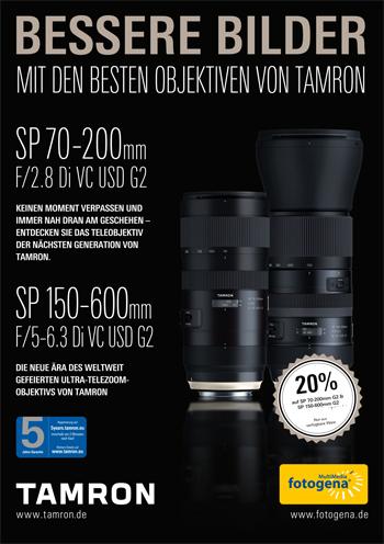 Tamron SP 70-200/2,8 Di VC USD G2 Nikon/Canon für 1279€ + 7€ Versand oder lokal Darmstadt