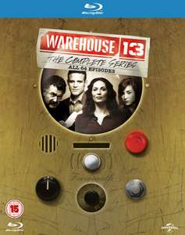 Warehouse 13: Die komplette Serie (Blu-ray) für 20,51€ (Zavvi)
