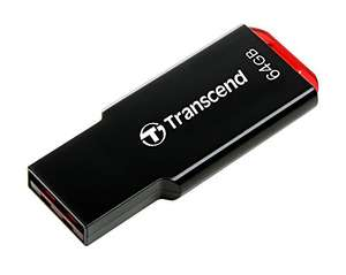 Amazon Prime Transcend TS64GJF310 JetFlash 310 64GB Speicherstick USB 2.0 schwarz/rot