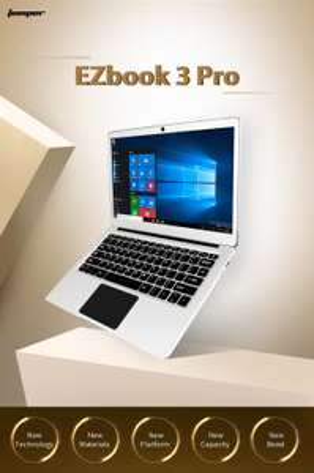 GearBest: Wieder Jumper EZBook Pro mit M.2 Slot für SSD für 195,64€