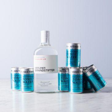 Delinero.de: Gin+Tonic Sets reduziert z.B Berliner Brandstifter+ 8 x 0,15 Fever-Tree für 32,90 + VSK (5,90)