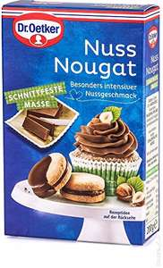 Amazon Marketplace Dr. Oetker 10kg Nuss Nougat (50 Packungen á 200 g)