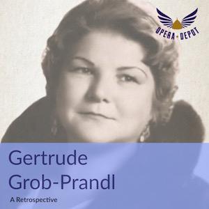 [Opera Depot] Retrospektive von Gertrude Grob-Prandl zum 100. Geburtstag als Gratis-Download