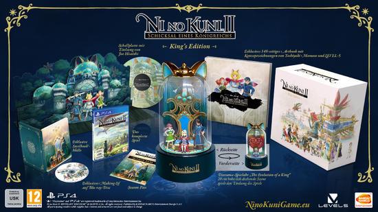 Ni No Kuni 2: Schicksal eines Königreichs King's Edition @ gamestop PS4