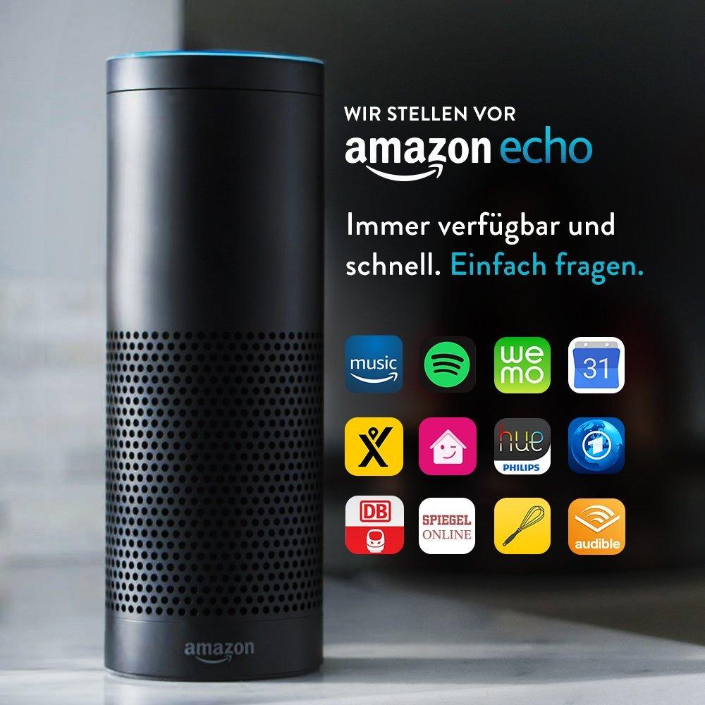 Amazon Echo für 116,99€ (Conrad Kundenkarten Inhaber)
