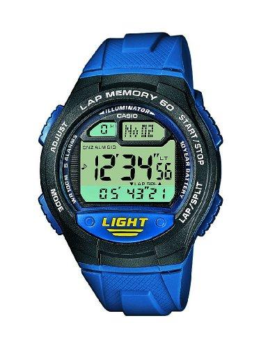 [Amazon Prime] Casio Collection – Unisex-Armbanduhr mit Digital-Display und Resin-Armband – W-734