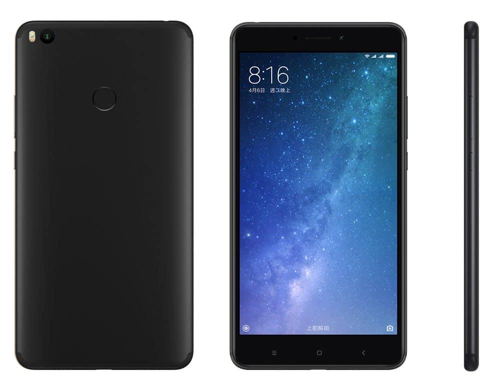 Xiaomi Mi Max 2 in schwarz - GLOBAL VERSION 4GB RAM 64GB ( kein Band20 ) für 221,16€