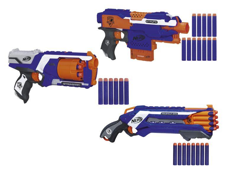 [Lidl] Verschiedene Nerf Pistolen für 9,99 Euro + 4,95 Euro Versand (VGP: ca 25 Euro)