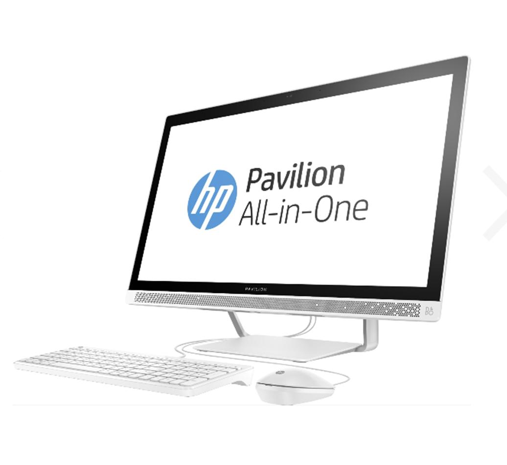 "HP Pavilion 27-a259ng AIO 68,6 cm (27"") FHD-IPS-Display, Intel Core i5-7400T, 8GB RAM, 128GB SSD + 1TB HDD, Win10 (Nachtschwärmer-Deal) [Notebooksbilliger]"