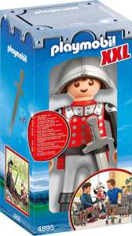 Playmobil™ - XXL-Ritter (4895) / XXL-Prinzessin (4896) ab jeweils €27,85 [@Playmobil.de]