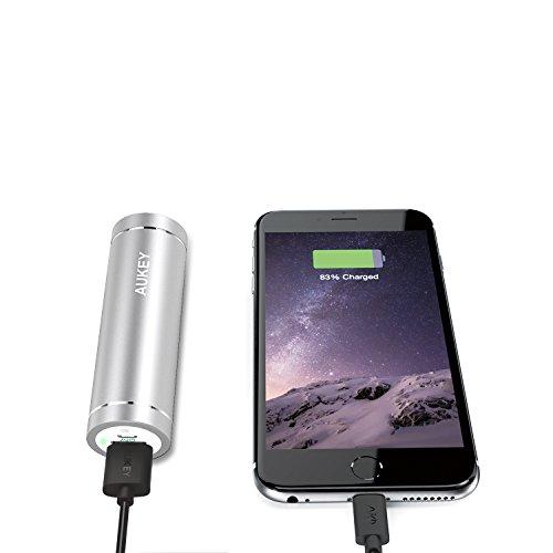 [Amazon Prime] AUKEY Power Bank 5000mAh (2A Input / 2A Output) für 4,99€ inkl. Versand