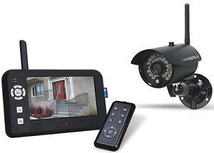 Elro CS95DVR Überwachungskamera mit Display, Bewegungserkennung und Nachtsicht --  Idealo 243€