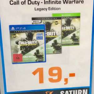 Lokal PB: Call of Duty Infinite Warfare Legacy Edition PS4