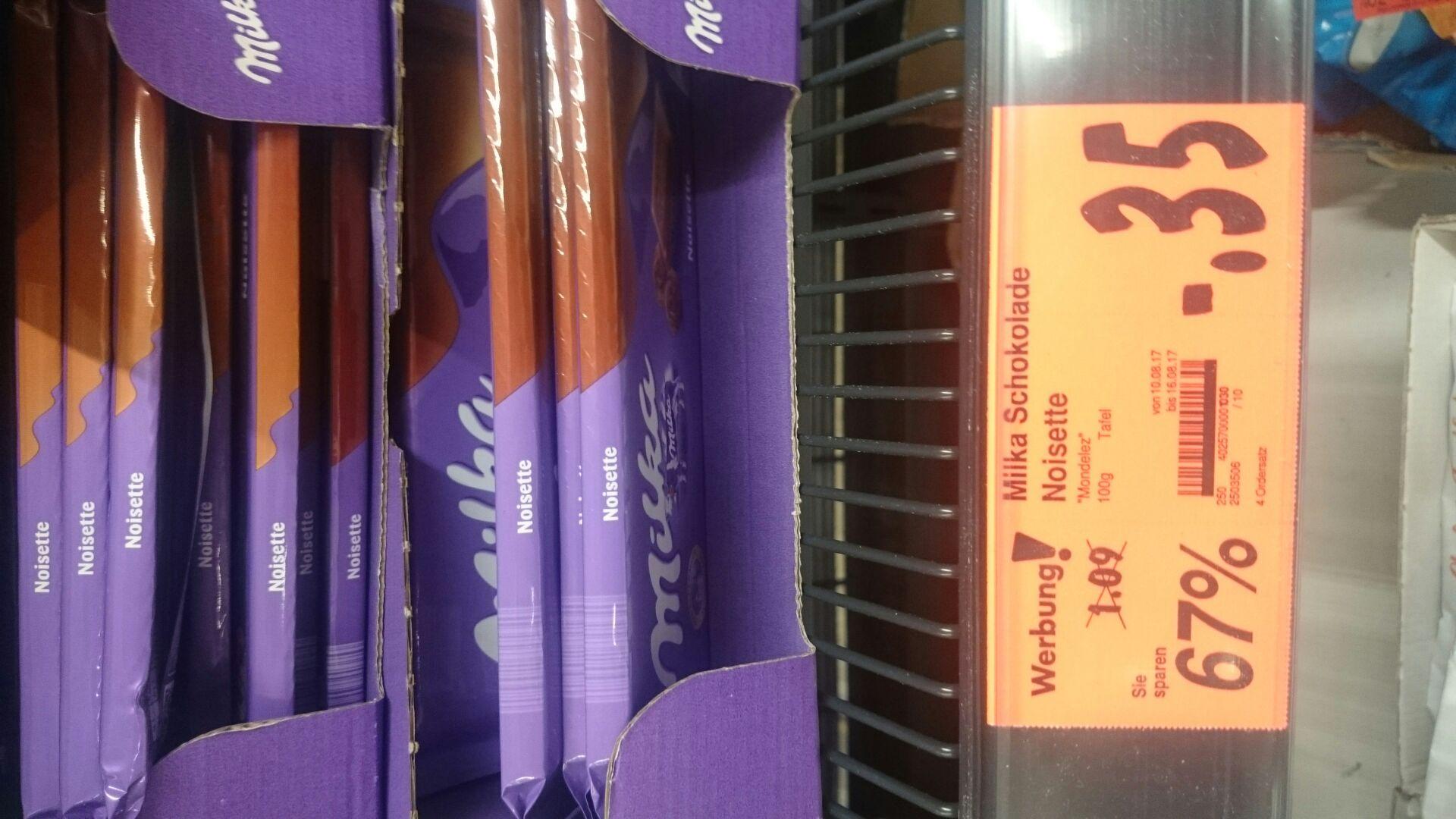 [lokal] Kaufland Gera - Milka Schokolade Noisette für 0,35 €