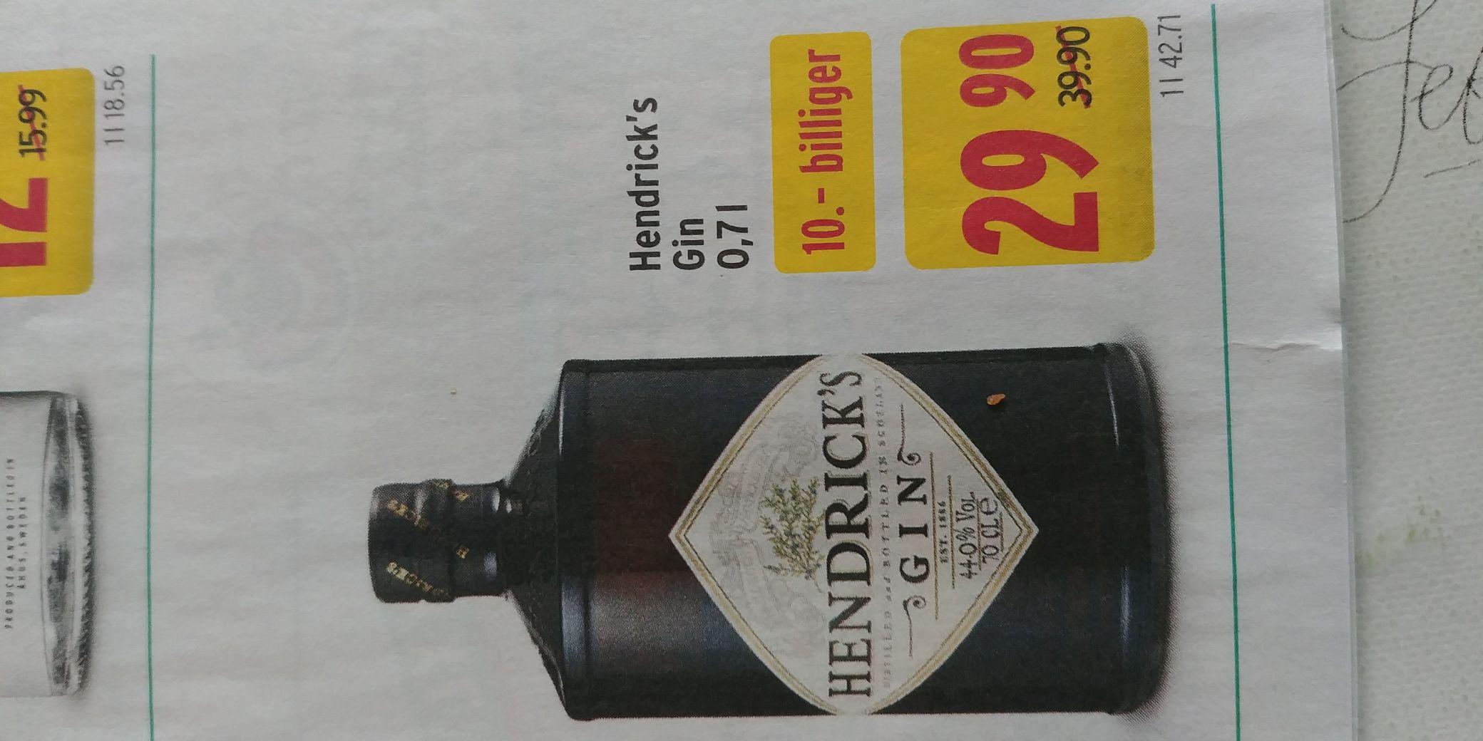 [Ö] Merkur - Hendricks Gin 0.7l