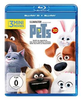 Pets auf Blu-ray 3D und 2D für 9,99€ mit [Amazon Prime]
