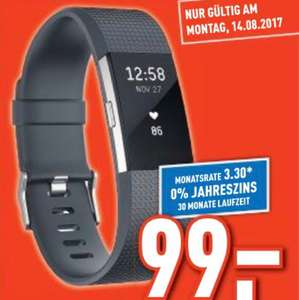 Fitbit Charge 2 am Montag bei Berlet
