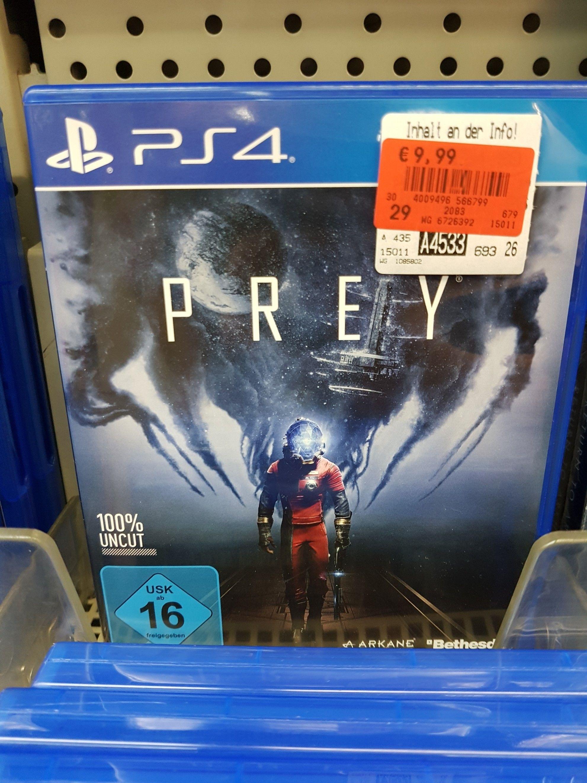 [Lokal Kaufland Paunsdorf Center Leipzig] Prey PlayStation 4 (Preisfehler?)