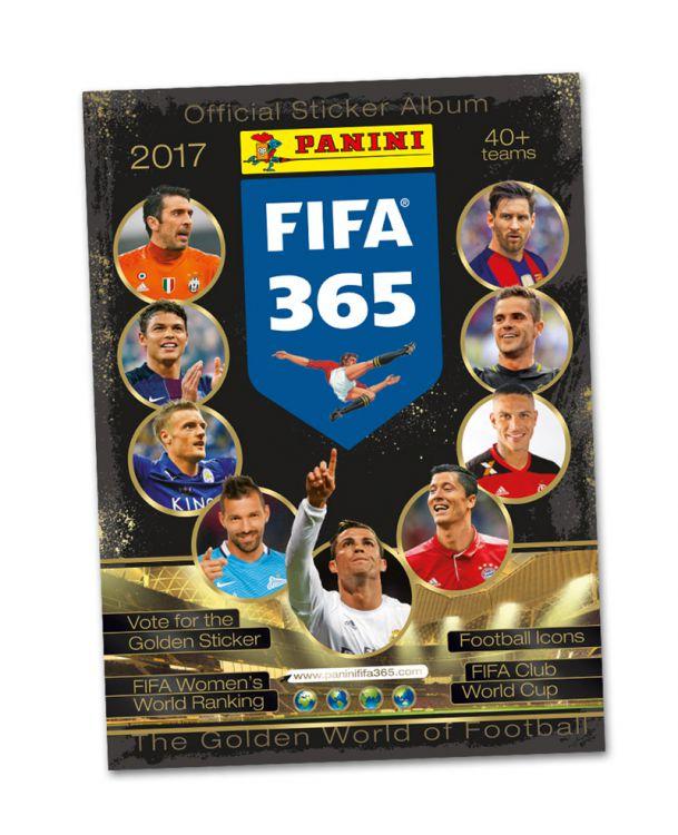 Gratis Panini FIFA 365 2017 Stickeralbum - versandkostenfrei!