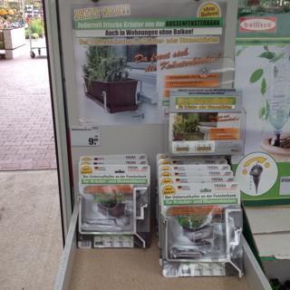 Toom Baumarkt - Blumenkastenhalter für die Fensterbank