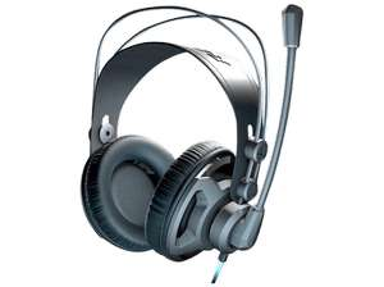 ROCCAT Renga Stereo Gaming Headset Over-Ear Schwarz (Multi-Plattform-Unterstützung für PC/PS4/Mobile/Tablet) [Saturn]