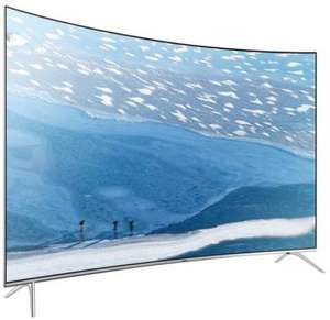 Samsung UE65KS7590 TV (65'' UHD Direct-lit curved Quantum Dot HDR, 10 Bit + 1000cd/m², 2200PQI [100Hz nativ], Triple Tuner, 4x HDMI, 3x USB, LAN + WLAN mit Smart TV, CI+, VESA, EEK A+) inkl. 3J Garantie für 1539,10€ [Kundenkarte] [Conrad]
