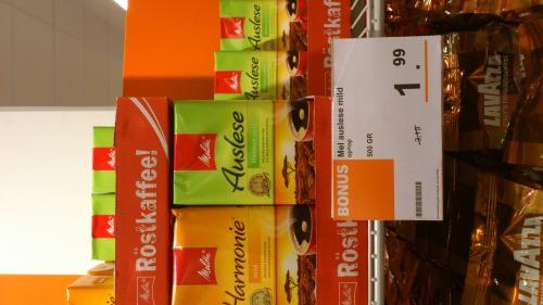 500gr Melitta Kaffee 1.99€  in NL