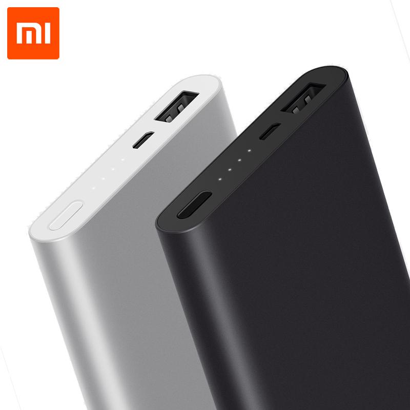 Original Xiaomi Ultra-thin 10000mAh Mobile Power Bank 2 mit Quick Charge für 13.53 € [Gearbest] *UPDATE*