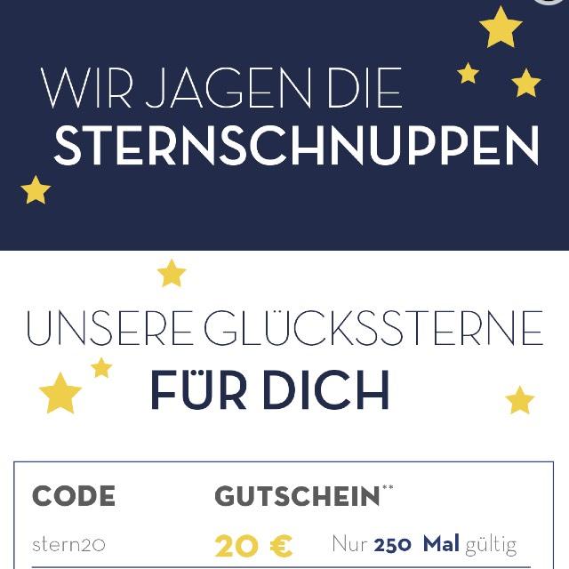 Limango Sternenjagd (Bis zu 20€ Rabatt)