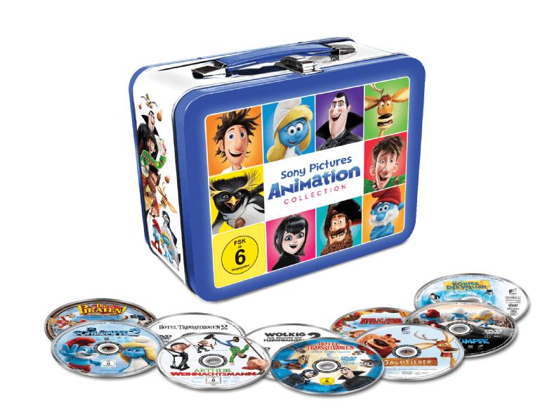 Animations-Filmhits in limitiertem Koffer (10 DVDs) für 24,99€ VSK frei Saturn !