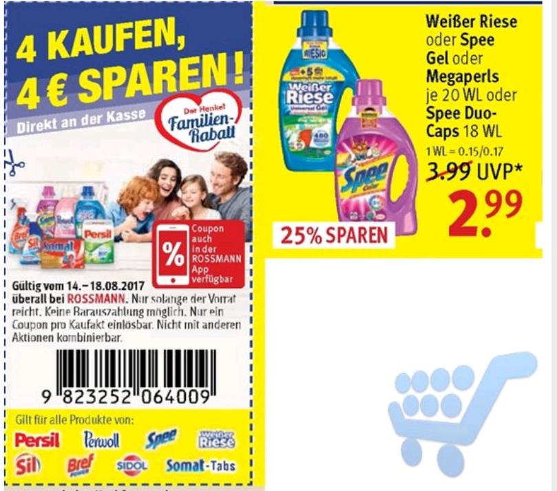 Weisser Riese / Spee flüssig oder Megaperls (20 WL)