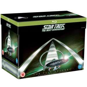 Star Trek: The Next Generation Komplettes Blu-ray Boxset Blu-ray für 43,11€ oder Enterprise komplett für 34,88€  @zavvi.de