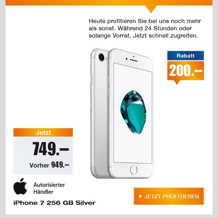 [nur Schweiz] iPhone 7 256 GB - silber