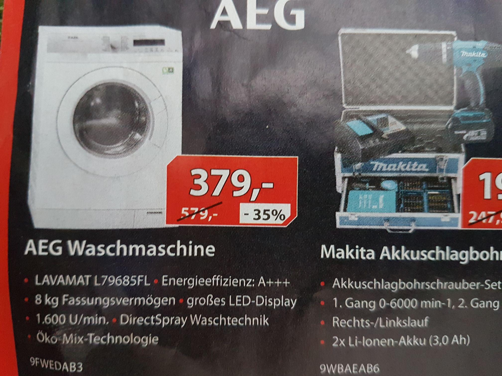 [Lokal Alternate Linden]  AEG Lavamat 30% günstiger für nur 379€ [PVG 542€]