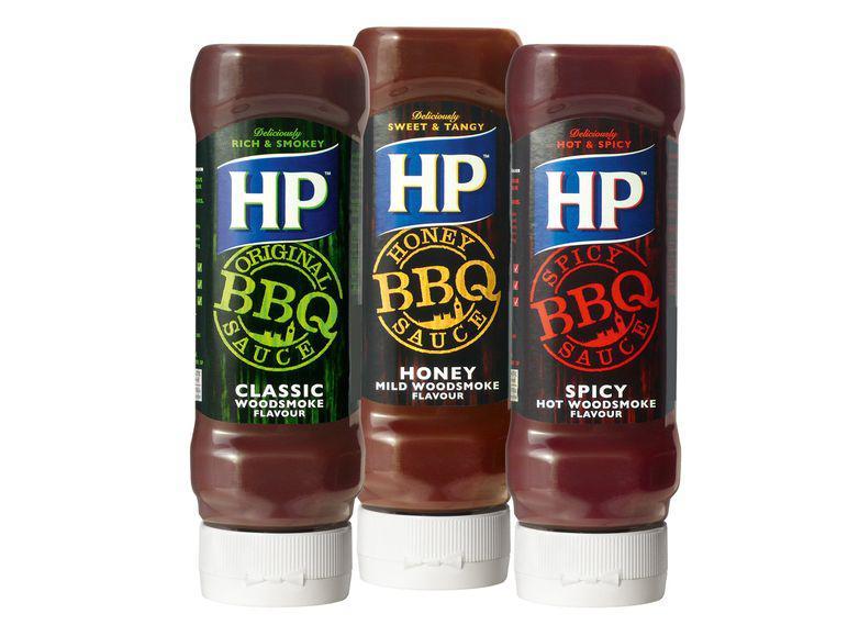 HP BBQ-Sauce versch. Sorten 465ml für 1,22€ (Angebot+Coupon)
